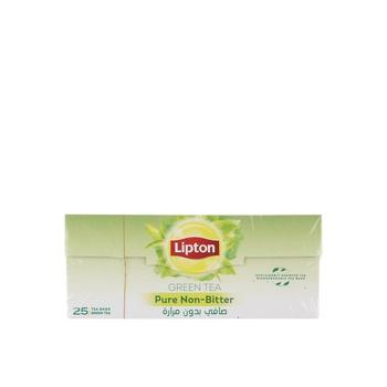Lipton Green Tea Non Bitter Tea Bags 25X1.5gm