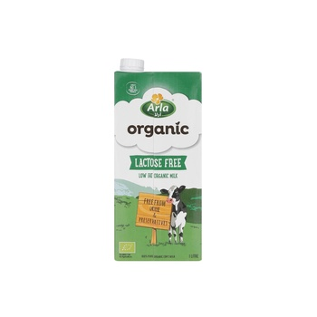 Arla Organic Lactose Free Low Fat Milk 1 ltr