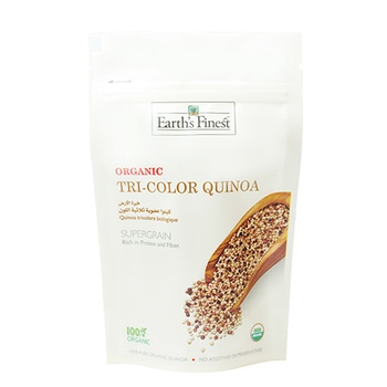 Earth`s Finest Organic Tricolor Quinoa 340g