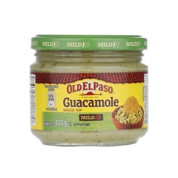 Old El Paso Guacamole Dip 320g