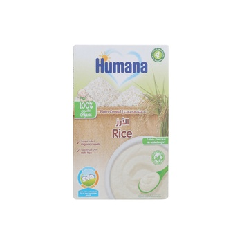 Humana Rice  Cereals Plain