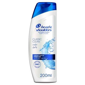 Head & Shoulders Shampoo - Classic Clean 200ml