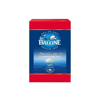 La Baleine Sea Salt Round Box 125g