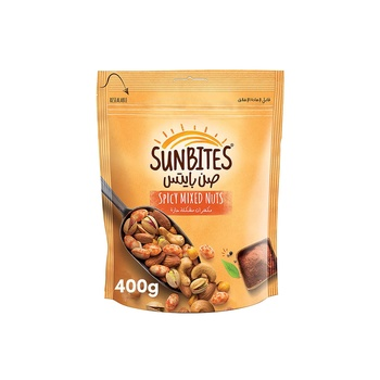 Sunbites Spicy Mixed Nuts 400g