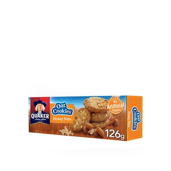 Quaker Oat Cookies Honey Nut 126g