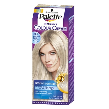 Palette Permanent Hair Dye Dark Blond