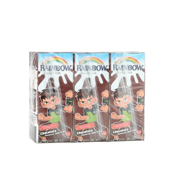 Rainbow UHT Milk Chocolate 6x185ml