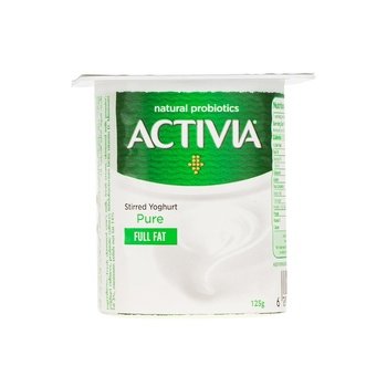 Activia Yoghurt Plain 125 ml