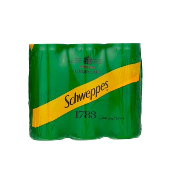 Schweppes Ginger Ale Can 6 x 250ml