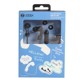 Zoook Earphone with Mic