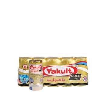 Yakult Cultured Milk Gold 80ml Pack of 5