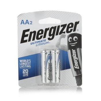 Energizer Lithium Battery L91Bp2 Aa 1.5V