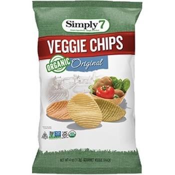 Simply7 Chips Veggie Org 3.5Oz