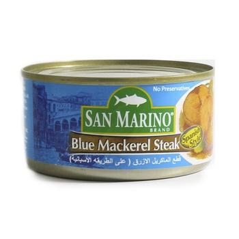 San Marino Blue Mackerel Steak 180g