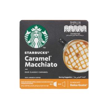 Starbucks Dolce Gusto Caramel Macchito Capsules 127.8