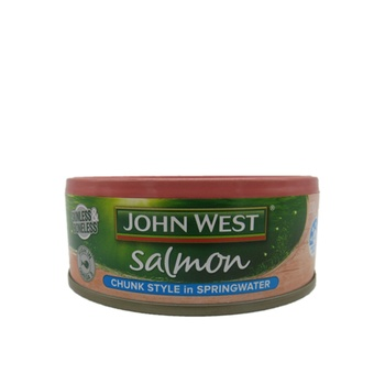 John West Salmon - Chunk Style In Springwater 130g