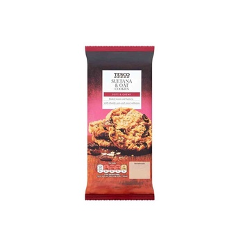 Tesco Sultana & Oat Cookies 200g