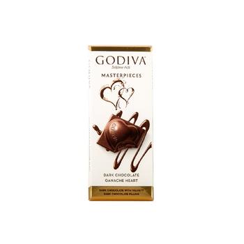 Godiva  Heart Tab Dark Choco 6X86g