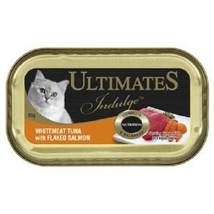 Ultimate Indulge White meat Tuna with Flaked Salmon 85g