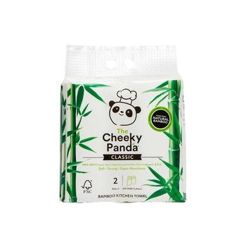 The Cheeky Panda Kitchen Towel 2 Rolls