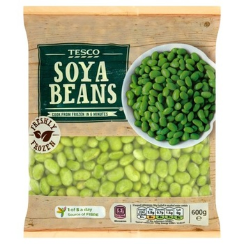 Tesco Soya Beans 600g