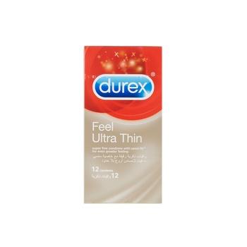 Durex Fetherlite Ultra / Feel Ultra Thin Condom 12's