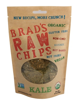 Brads Raw Food Chips Kale 85g