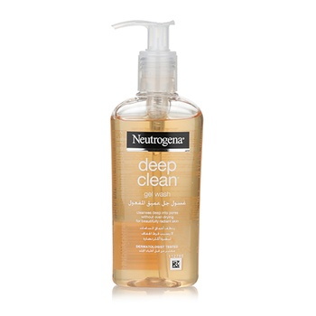 Neutrogena Facial Wash Deep Clean Gel, 200ml