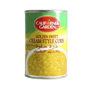 California Garden Golden Sweet Cream Style Corn 418g
