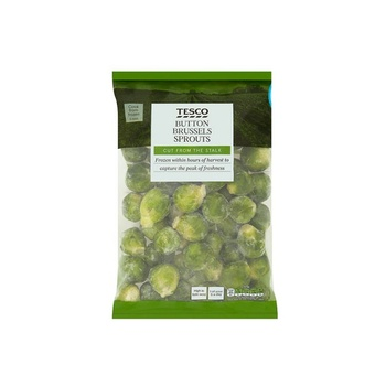 Tesco Button Brussels Sprouts 1kg