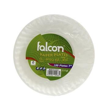 Falcon Paper Plates 7Inch 100pcs