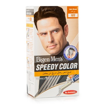 Bigen Speedy Hair Color Conditioner Dark Brown No.103 For Men