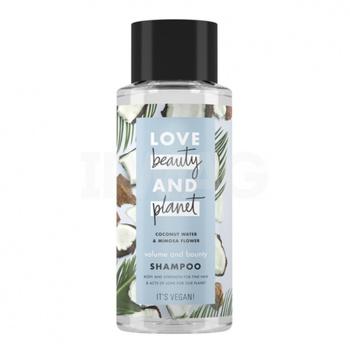 Love Beauty & Planet Coconut Water & Mimosa Flower Volume & Bounty Shampoo 400 ml