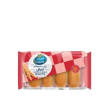 Lusine Sandwich Roll White 50g Pack of 4