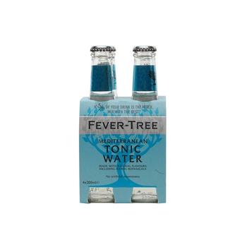 Fever Tree Mediterranean Tonic Water 4x200ml