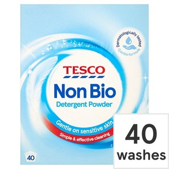 Tesco Non Bio Laundry Powder 2.6kg