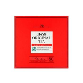 Tesco 80 Tea Bags 250g