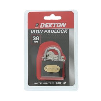 Dekton Iron Padlock 38 mm