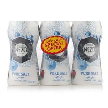 Nezo Salt Blue Bottle 3 X 600g