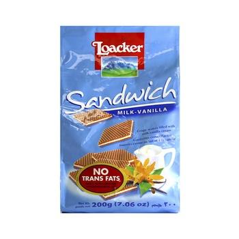 Loacker Quad Milk-Vanilla 200g