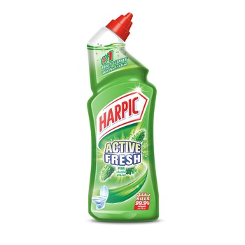 Harpic Fresh Pine Toilet Bowl Cleaner 750ml