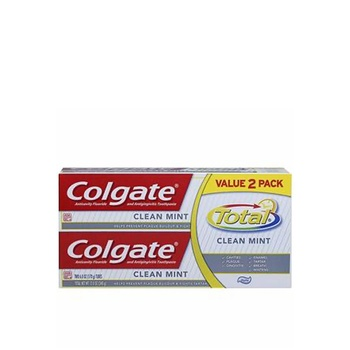 Colgate Toothpaste Total Clean Mint 100ml Pack Of 2