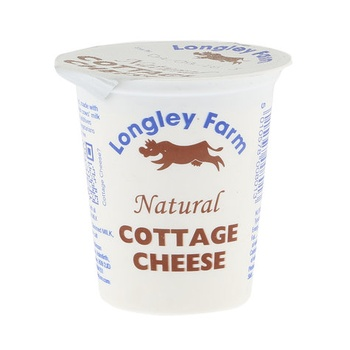 Longley Farm Natural Cottage Cheese 125g
