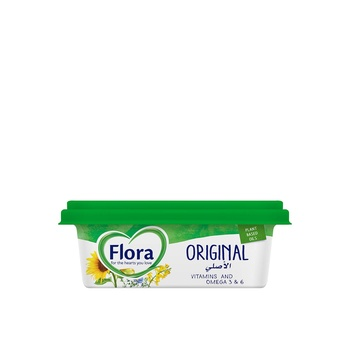Flora Original Plant Based Oils Margarine 250g