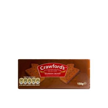 Crawfords Bourbon Cream Biscuits 150g