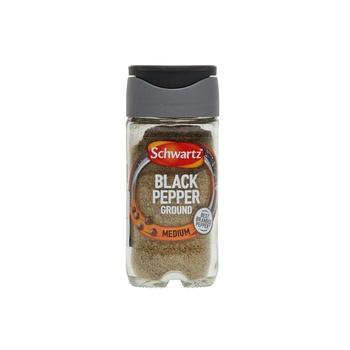 Schwartz Ground Black Pepper Bottle 33g