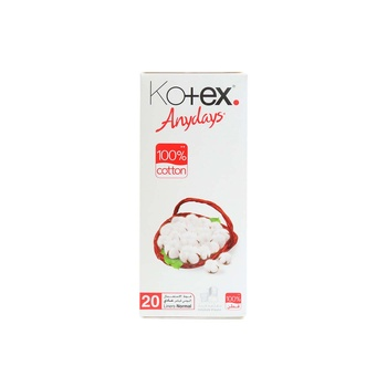 Kotex Anydays Liner Normal 20 pcs