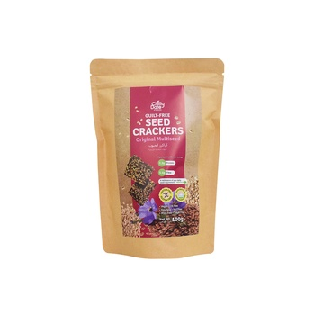 Chilly Date Multiseed Crackers 50g