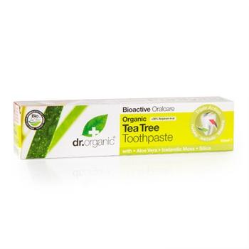 Dr. Organic Tea Tree Toothpaste (Antibacterial) 100 ml