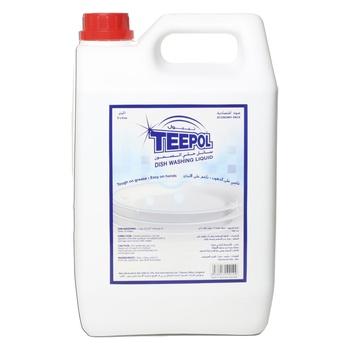 Teepol economy dish washing liquid 5 liter